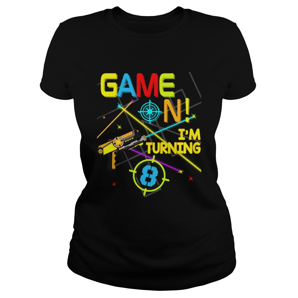 1574067229Laser Tag Birthday Party Game On Im Turning 8  Classic Ladies