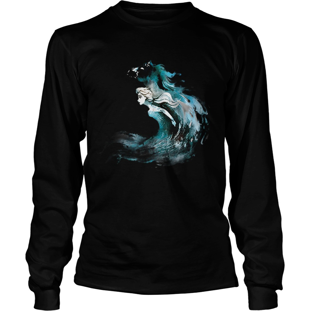 2019 Frozen 2 Elsa And The Nokk  LongSleeve