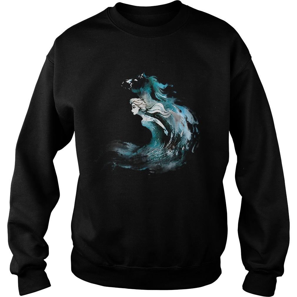 2019 Frozen 2 Elsa And The Nokk  Sweatshirt