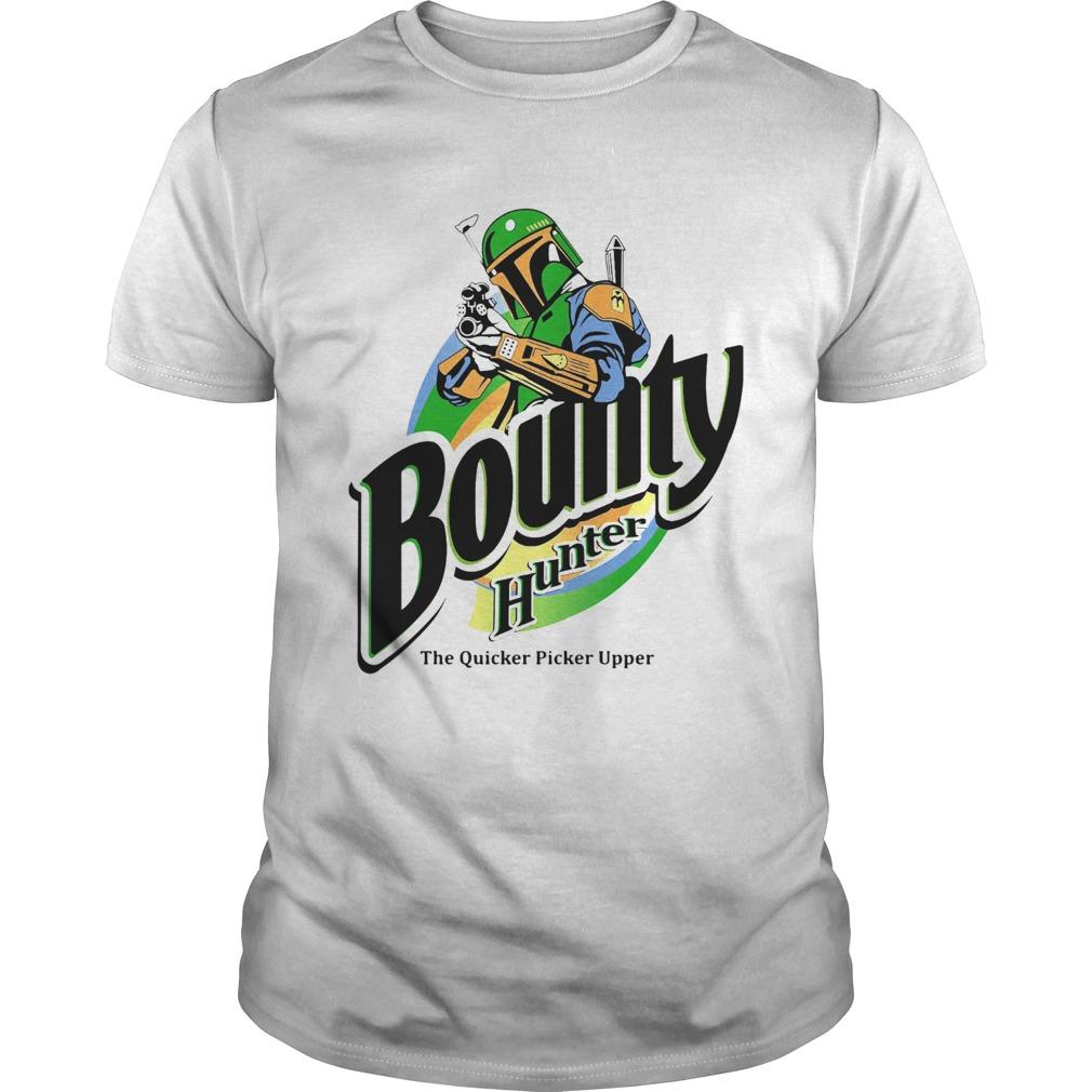 The Mandalorian Bounty Hunter Shirt The Quicker Picker Upper Unisex