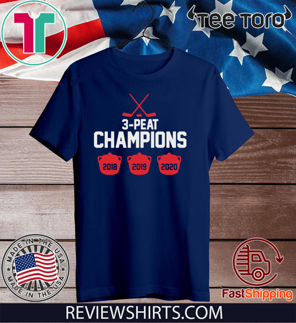 3-Peat Champs Official T-Shirt