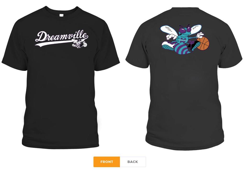 Charlotte Hornets X Dreamville Tee Shirt
