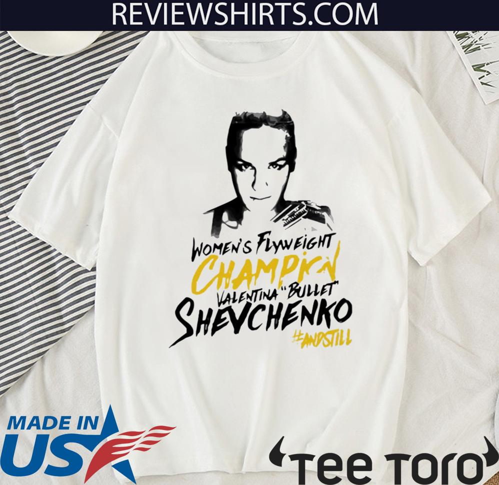 Valentina Bullet Shevchenko Winner Shirt T-Shirt