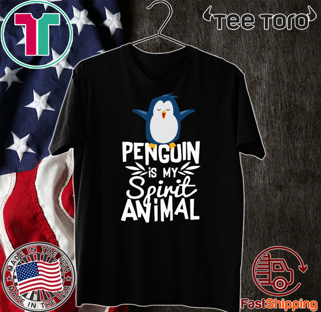 Official Cute Penguin is My Spirit Animal T-Shirt