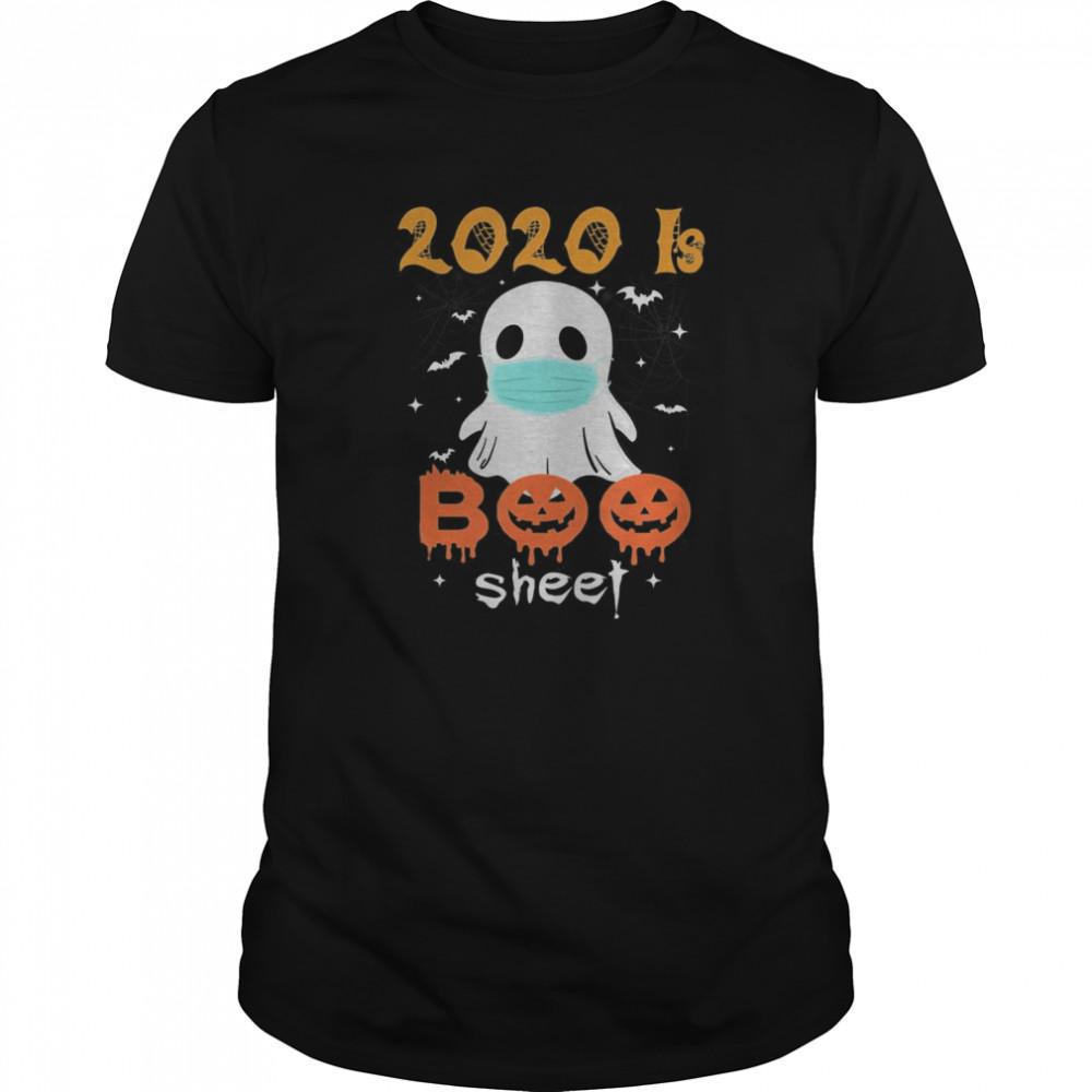 2020 is Boo Sheet Scary Pumpkin Ghost Halloween Horror Classic Men's T-shirt