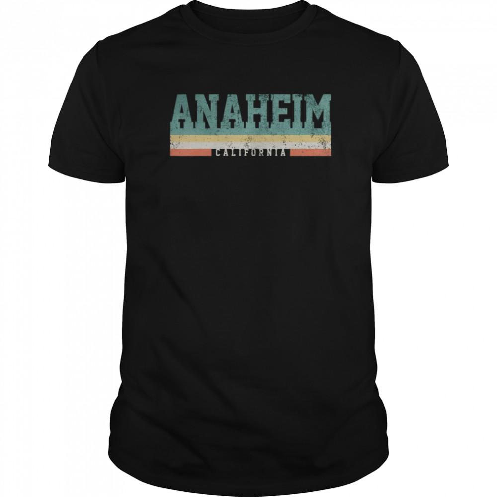 Anaheim California Retro Vintage Classic Men's T-shirt