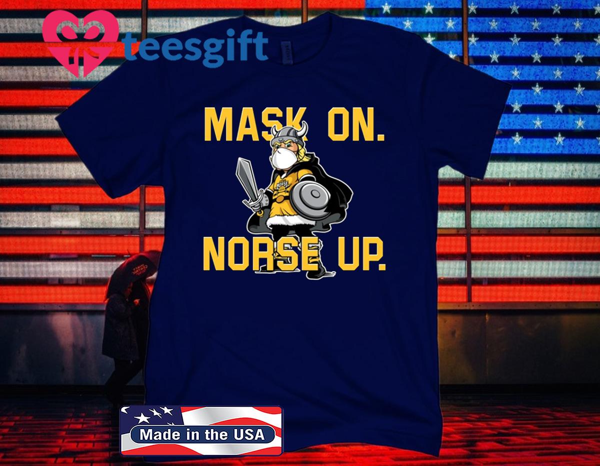NKU MASK UP! NORSE UP! SHIRT