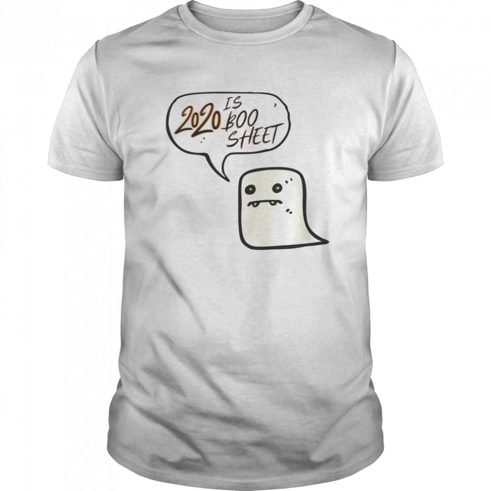 Cute 2020 is Boo Sheet Ghost Women Men Halloween Costume Classic Men's T-shirt