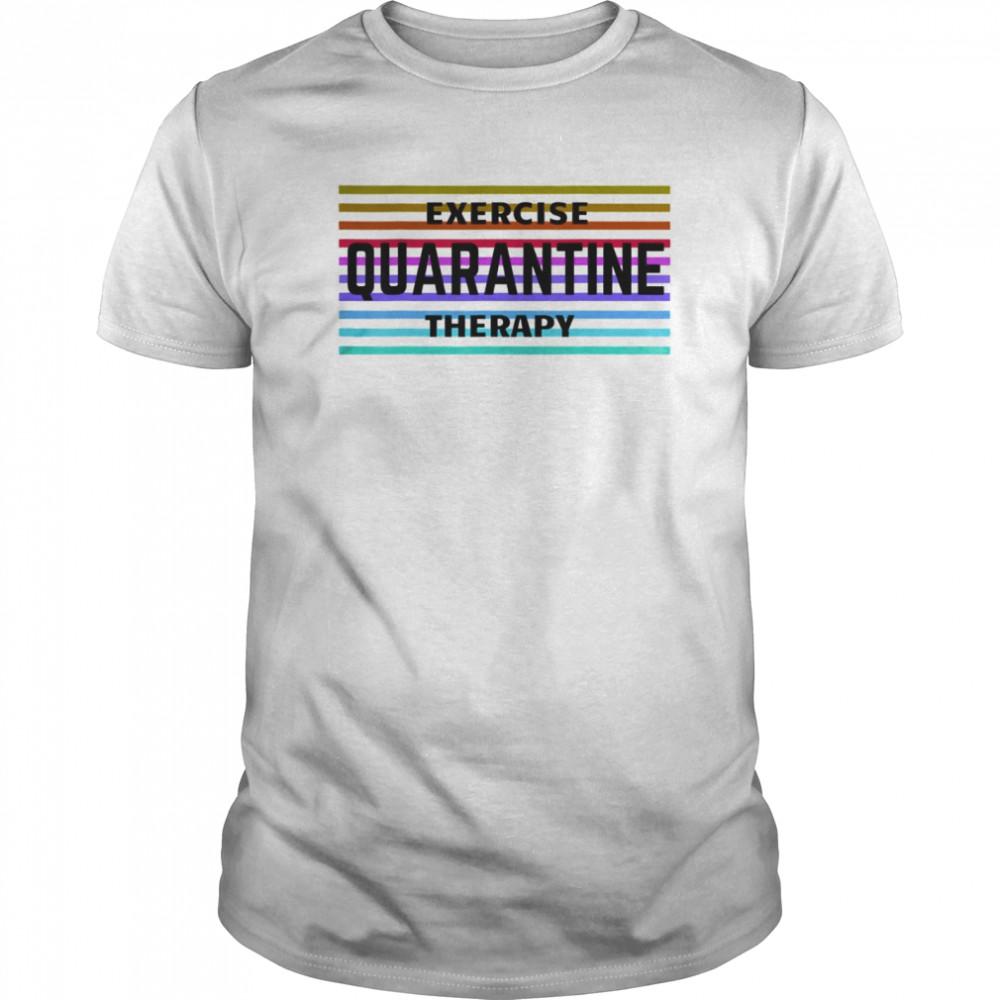 Exercise Quarantine Therapy vintage Classic Men's T-shirt