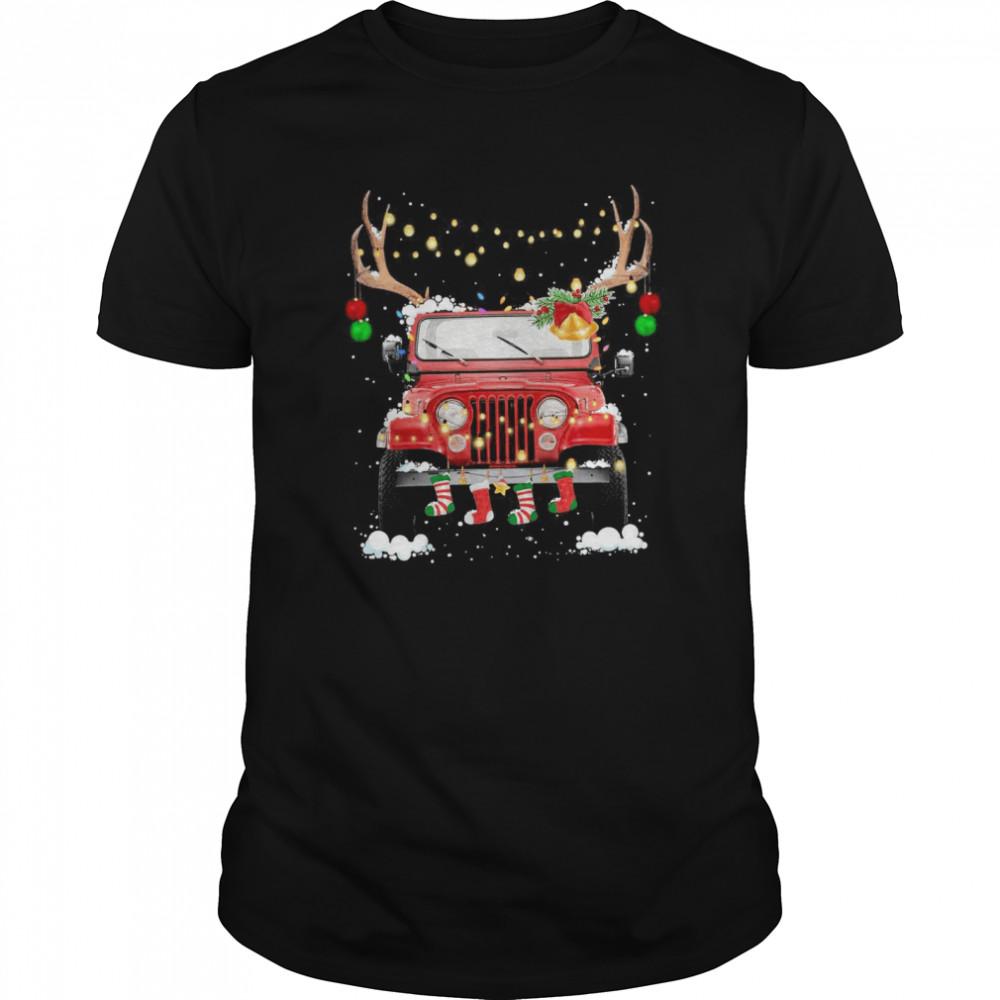 Jeep Light Christmas Classic Men's T-shirt