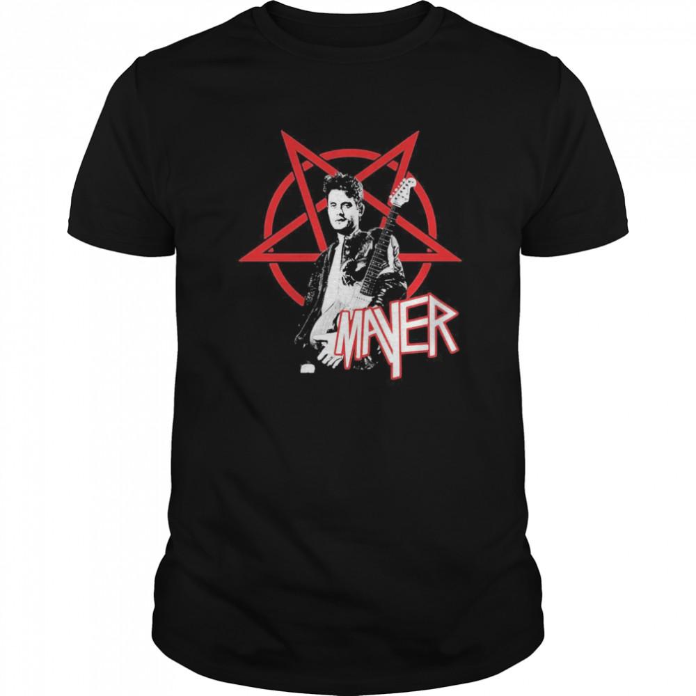 John Mayer Playing Guitar Classic Men's T-shirt