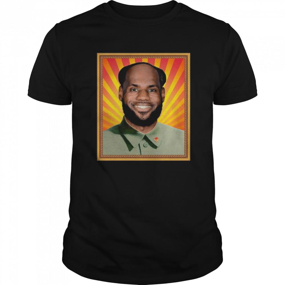 Lebron James' China Mao Zedong Classic Men's T-shirt