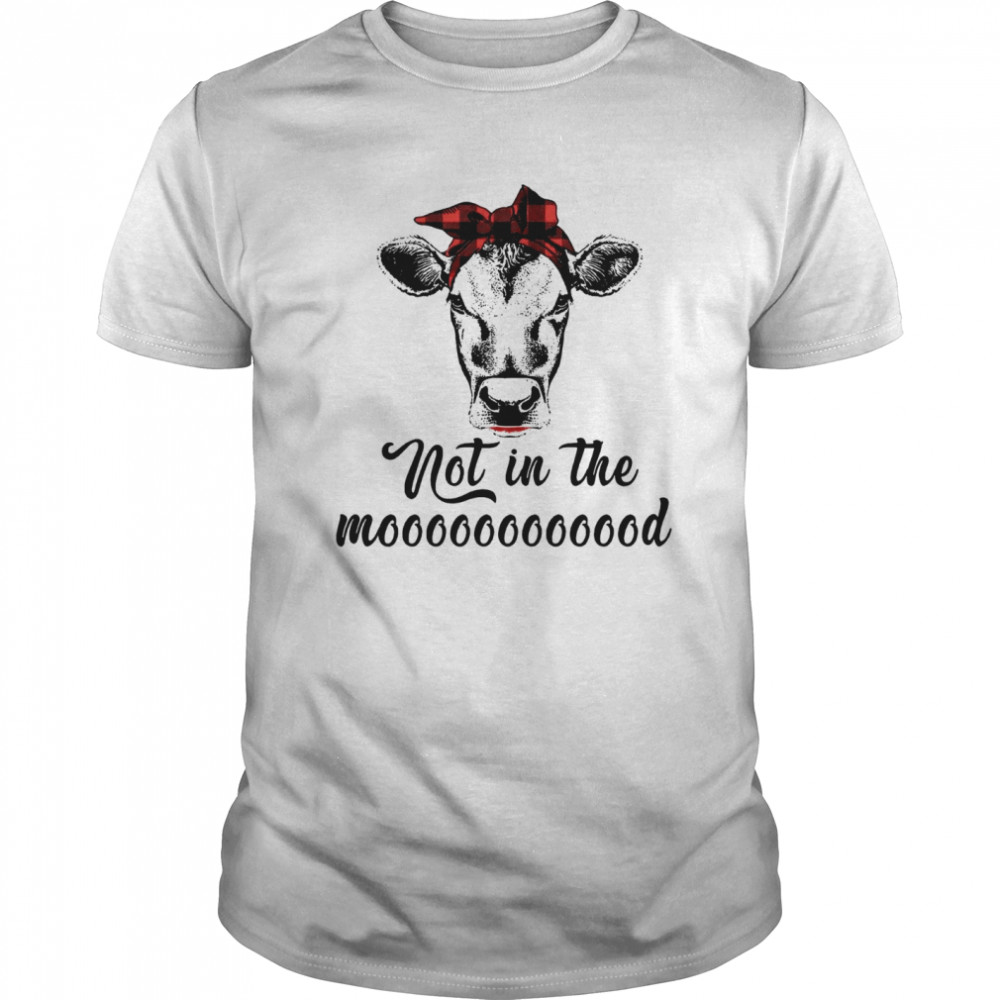 Not In The Mooood Classic Men's T-shirt