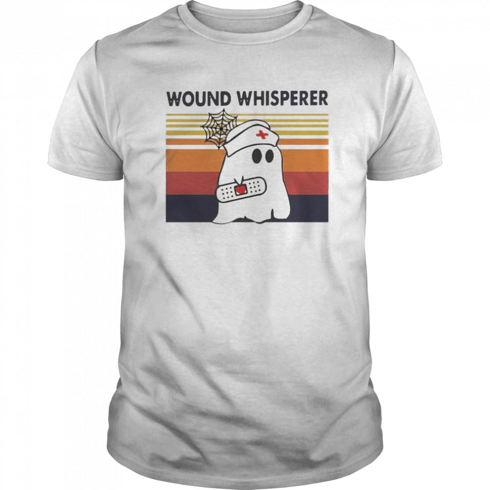Nurse Ghost Wound Whisperer Vintage Retro Classic Men's T-shirt