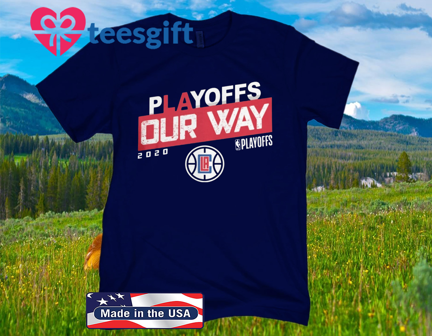 PLAYOFF OUR WAY LOGO T-SHIRTS