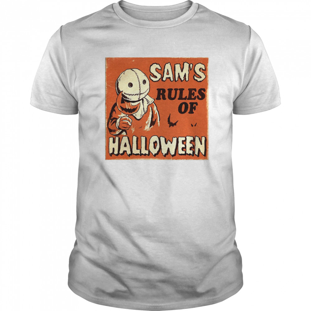 Sam's Rules Of Halloween Classic Men's T-shirt