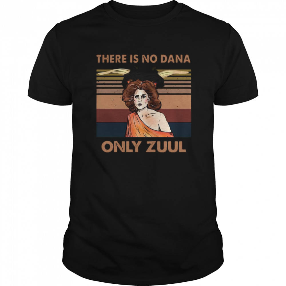 There Is No Dana Only Zuul Vintage Retro Classic Men's T-shirt