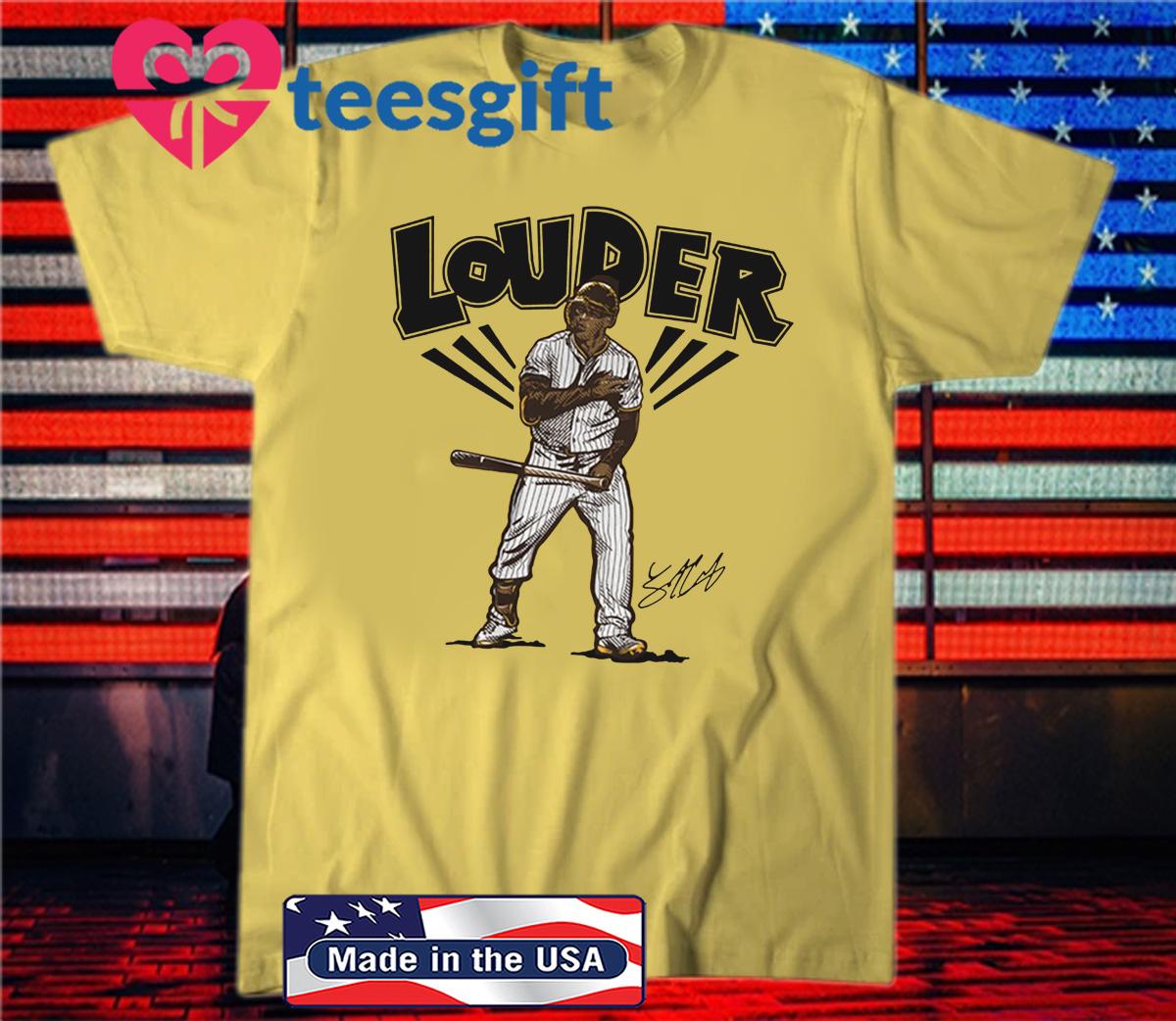 Trent Grisham Louder T-Shirt Official San Diego