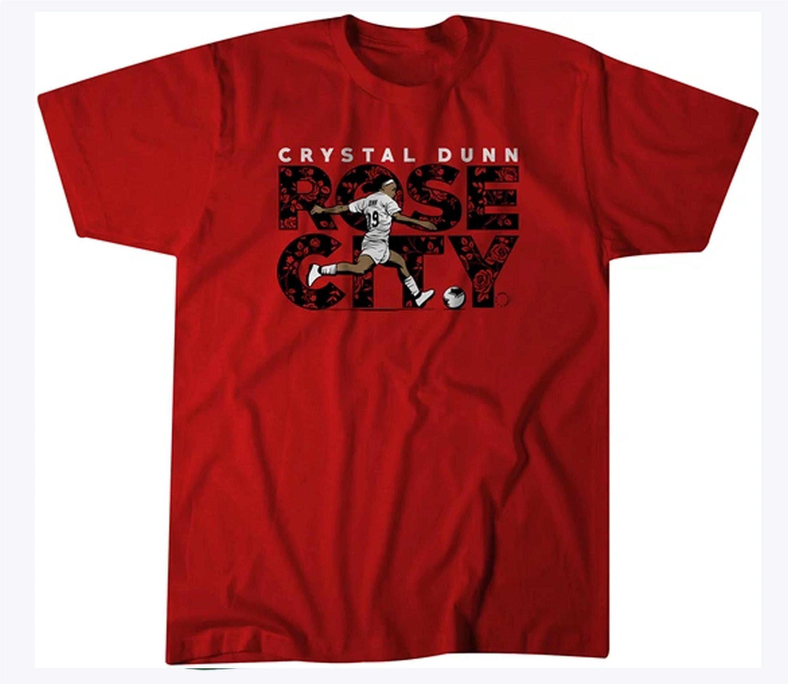 Crystal Dunn Rose City USWNTPA T-Shirt