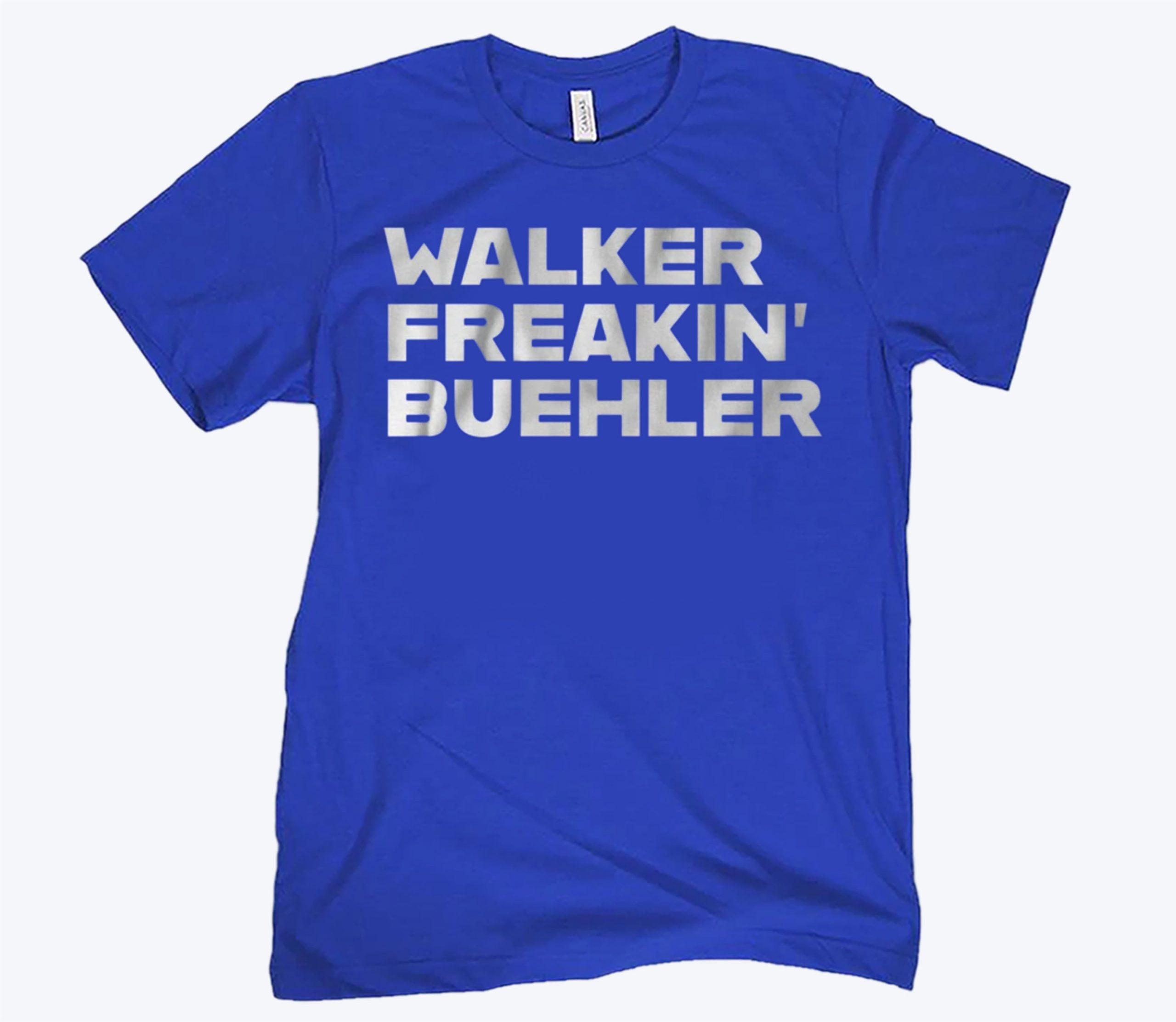 Walker Freaking Buehler MLBPA Shirt