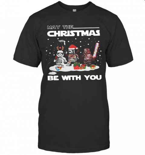 Star Wars Character May The Christmas Be With You Christmas T-Shirt Classic Men's T-shirt