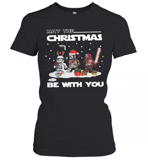 Star Wars Character May The Christmas Be With You Christmas T-Shirt Classic Women's T-shirt