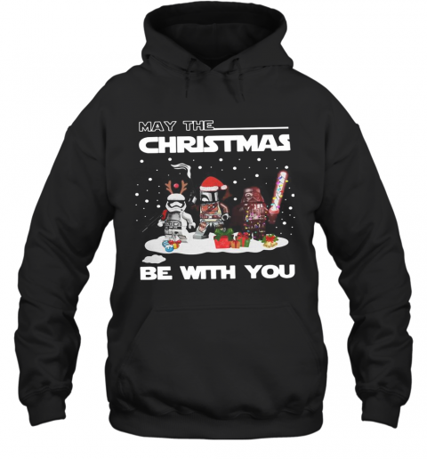 Star Wars Character May The Christmas Be With You Christmas T-Shirt Unisex Hoodie