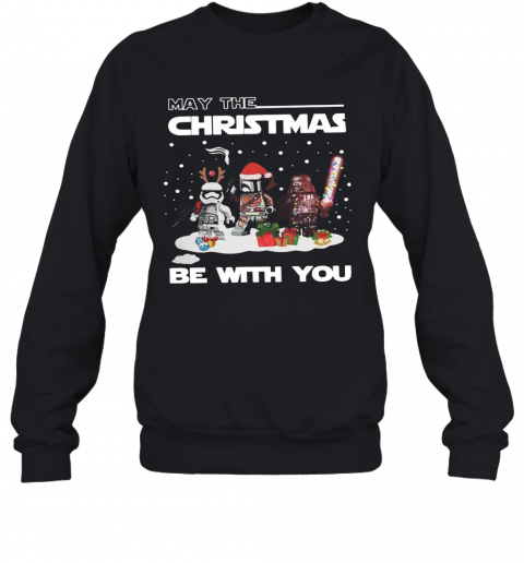 Star Wars Character May The Christmas Be With You Christmas T-Shirt Unisex Sweatshirt