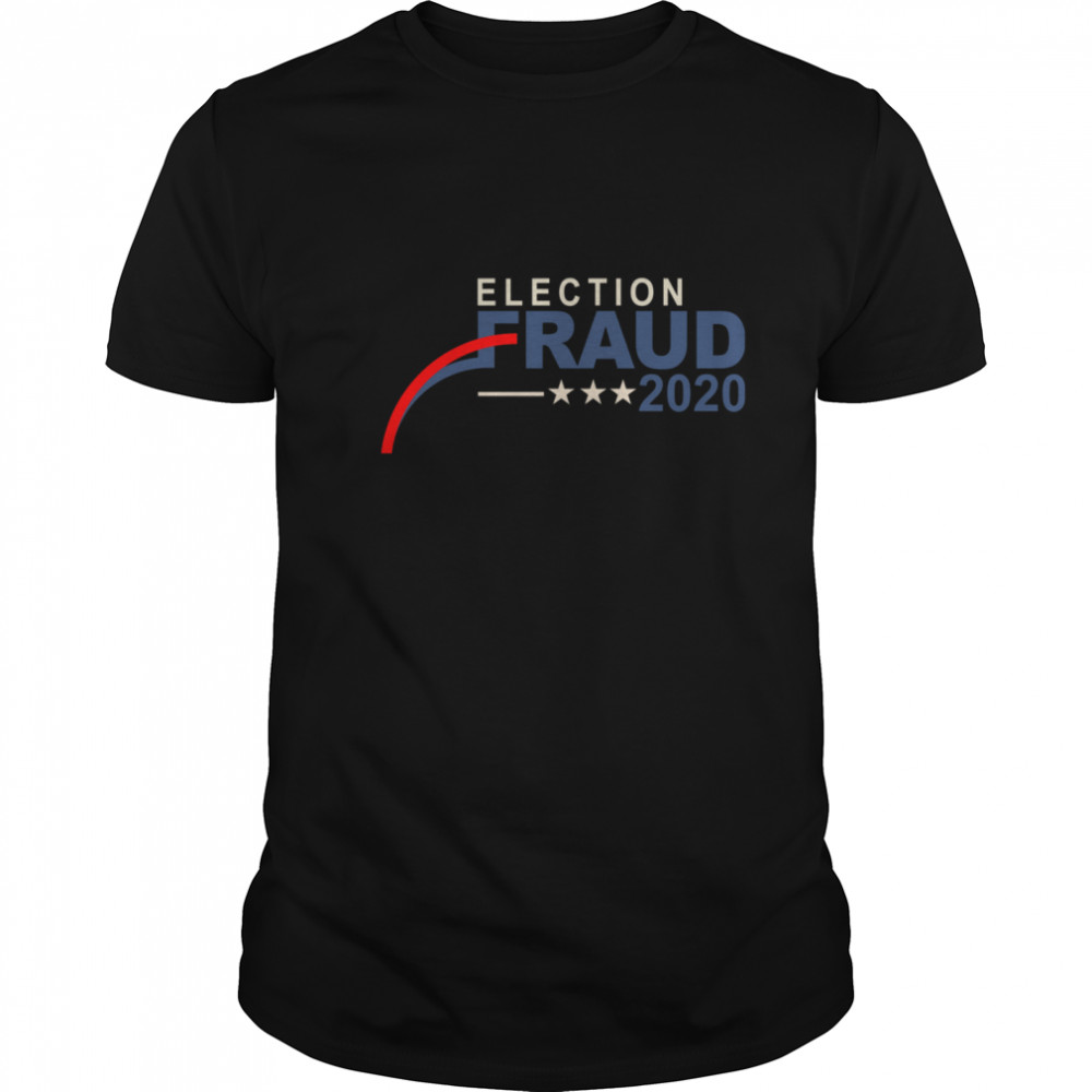 Election Fraud 2020 Essential Stars  Classic Men's T-shirt