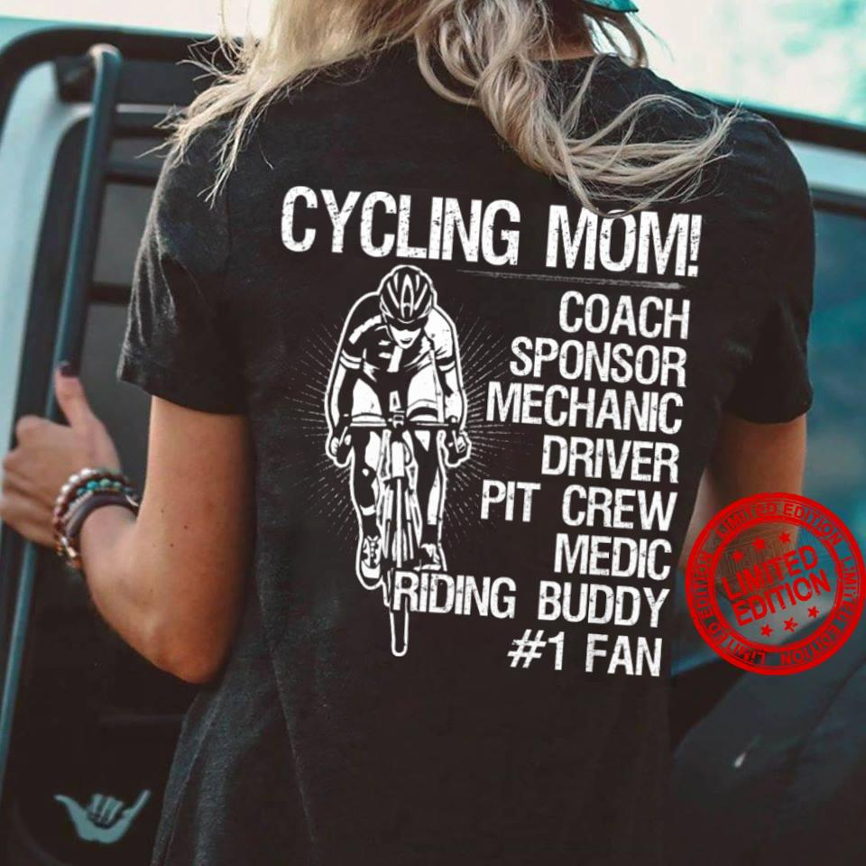 Cycling Mom Coach Sponsor Mechanic Driver Pit Crew Sweatertee