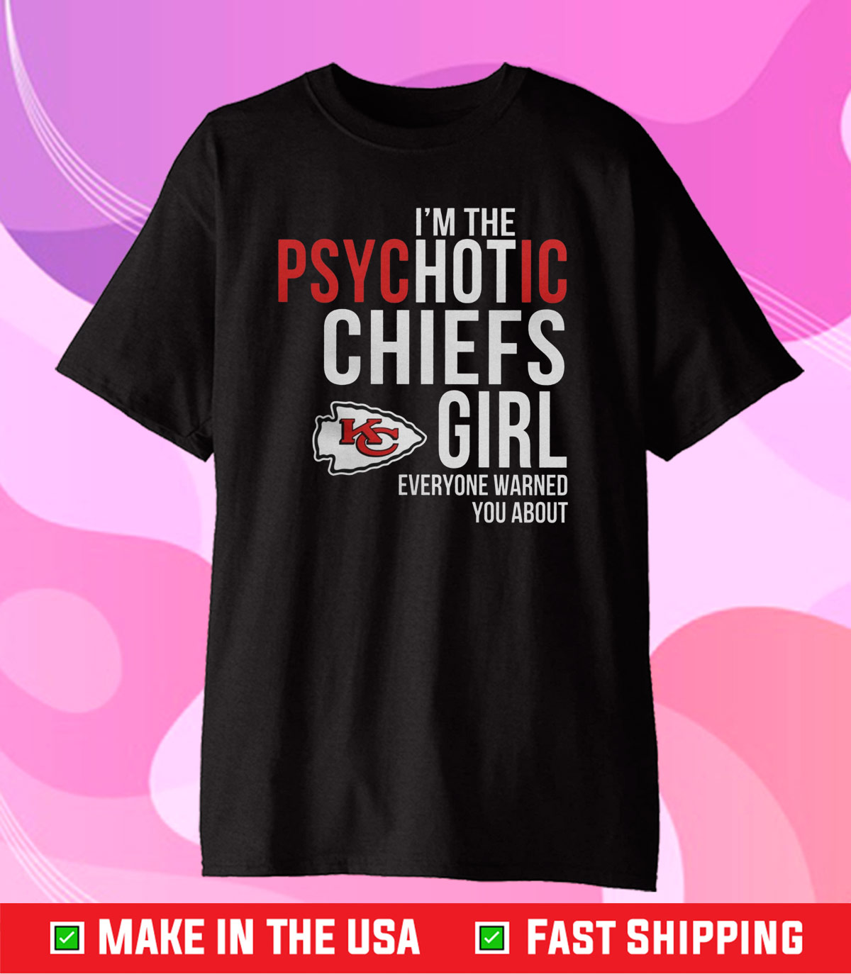 Kansas City Chiefs NFL Champions Unisex T-Shirt