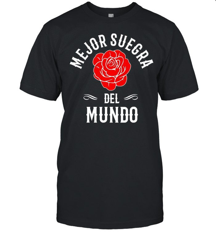 Mejor Suegra Del Mundo Best Mother In Law Gift In Spanish shirt Classic Men's T-shirt